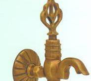 Кран для турецкой баним медного цвета